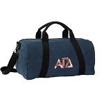 Alpha Gamma Duffel RICH COTTON Washed Finish Blue