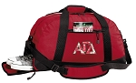Alpha Gamma Duffle Bag Red