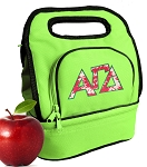 Alpha Gamma Lunch Bag Green