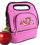 Alpha Gamma Lunch Bag Pink