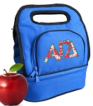Alpha Gamma Lunch Bag Blue