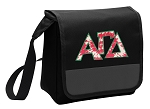 Alpha Gamma Lunch Bag Cooler Black