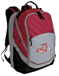 Alpha Gamma Deluxe Laptop Backpack Red