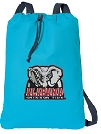 Alabama Cotton Drawstring Bag Backpacks Blue