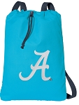 University of Alabama Cotton Drawstring Bag Backpacks Blue