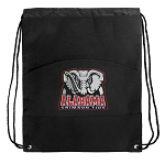 Alabama Drawstring Cinch Backpack Bag