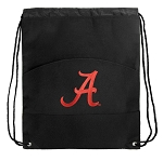 University of Alabama Drawstring Cinch Backpack Bag