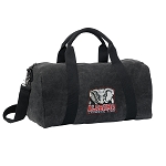 Alabama Duffel RICH COTTON Washed Finish Black