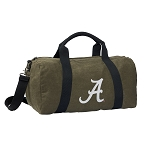 Alabama Duffel RICH COTTON Washed Finish Khaki