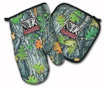 Alabama Real Camo Oven Mitt and Logo Potholder Set