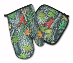 University of Alabama Real Camo Oven Mitt and Logo Potholder Set