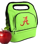 University of Alabama Lunch Bag Green
