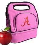 University of Alabama Lunch Bag Pink