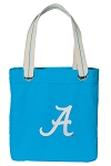 Alabama Tote Bag RICH COTTON CANVAS Turquoise
