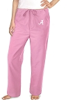 Ladies Alabama Pink Scrubs Pants