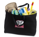Alabama Jumbo Tote Bag Black