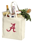 Alabama Crimson Tide Shopping Bags Canvas