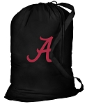 University of Alabama Laundry Bag Black