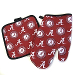 Alabama Oven Mitt Pot Holder Set