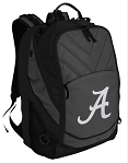 Alabama Deluxe Laptop Backpack Black