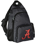 University of Alabama Backpack Cross Body Style Gray