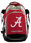 University of Alabama Harrow Field Hockey Backpack Bag Red