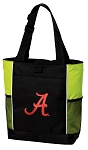 University of Alabama Tote Bag COOL LIME