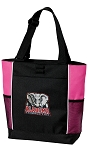 Alabama Neon Pink Tote Bag