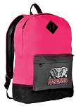 Alabama Backpack Classic Style HOT PINK
