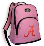 University of Alabama Pink Backpack