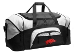 University of Arkansas Duffel Bags or Arkansas Razorbacks Gym Bags For Men or Women