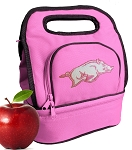 University of Arkansas Lunch Bag Pink