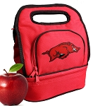 Arkansas Razorbacks Lunch Bag Red