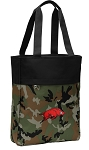 Arkansas Razorbacks Tote Bag Everyday Carryall Camo