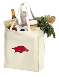 Arkansas Razorbacks Shopping Bags Canvas
