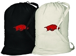 Arkansas Razorback Laundry Bags 2 Pc Set