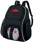 University of Arkansas Razorbacks Ball Backpack