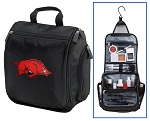 University of Arkansas Toiletry Bag or Arkansas Razorbacks Shaving Kit Travel Organizer for Men