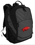 Arkansas Razorbacks Deluxe Laptop Backpack Black