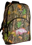 University of Arkansas Backpack REAL CAMO DESIGN