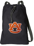 Auburn Cotton Drawstring Bag Backpacks