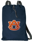 Auburn Cotton Drawstring Bag Backpacks Cool Navy