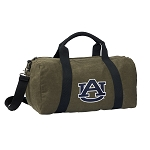 Auburn Duffel RICH COTTON Washed Finish Khaki