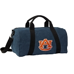 Auburn Duffel RICH COTTON Washed Finish Blue