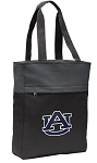 Auburn Tote Bag Everyday Carryall Black