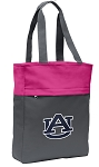 Auburn Tote Bag Everyday Carryall Pink