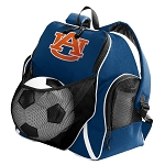 Auburn Soccer Ball Backpack