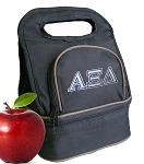 Alpha Xi Lunch Bag Black