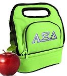 Alpha Xi Lunch Bag Green