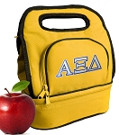 Alpha Xi Lunch Bag Gold